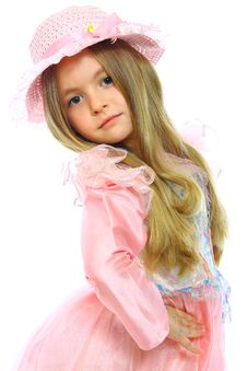 Free Little Girl Posing Royalty Free Stock Photos - 18643398
