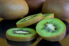 Free Sliced Kiwi Fruits Stock Photo - 18643460