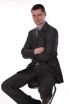 Free Portrait Of Businessman Stock Images - 18643604