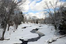 Free Beautiful Winter Horizontal Landscape Stock Image - 18643761