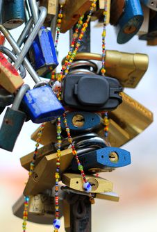 Free Padlocks Royalty Free Stock Photos - 18644018