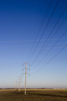 Free Power Lines Stock Images - 18644114