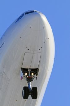 Free Aircraft Nose Close Up Royalty Free Stock Photography - 18644117