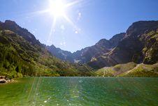 Free Mountain Landscape Royalty Free Stock Image - 18644276