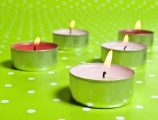 Free Candles Royalty Free Stock Photography - 18644297