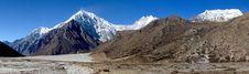 Free Langtang Himal Panorama Stock Images - 18644334