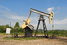 Free Oil Pump Stock Photos - 18644393
