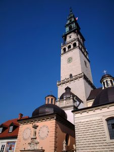 Free Tower In The Monastery Of Jasna Gora Royalty Free Stock Photo - 18645015