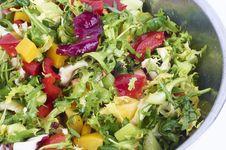 Free Fresh Salad Stock Photography - 18645222