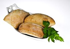 Free Ciabatta Bread Rolls Stock Photo - 18646070