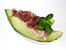 Free Prosciutto Con Melone Stock Photo - 18646150