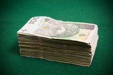 Free Stack Of Hundret Zloty Bills Stock Photo - 18646630