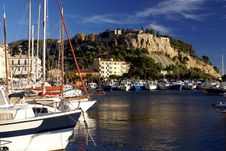 Free Port And Castle Of Cassis Stock Images - 18646734