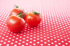 Free Cherry Tomatoes Royalty Free Stock Photography - 18646867