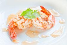 Jumbo Shrimp Stock Photography