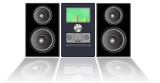 Free Stereo System Stock Photo - 18648370
