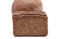 Wholemeal Bread And Wheat Bread Royalty Free Stock Image