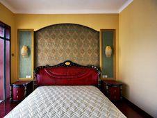 Free Bright Bedroom Stock Photo - 18650320