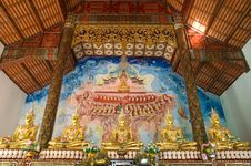 Free Image Of Buddha And Mural Stock Images - 18650674