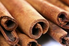 Free Close-up Cinnamon Stick Spices Royalty Free Stock Image - 18651276