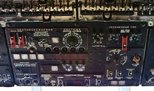 Free Retro Russian Helicopter Dashboard Stock Photos - 18651313