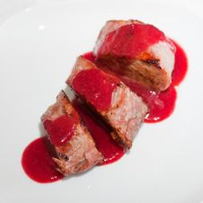 Free Dish From A Pork Cutting Stock Photography - 18651512