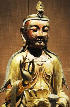 Free Buddhist Statue Royalty Free Stock Photo - 18652075