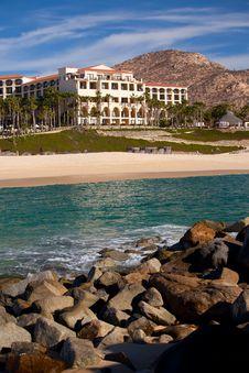 Luxury Resort In Cabo San Lucas Stock Photo