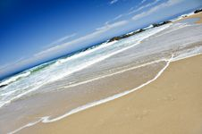 Free Empty Beach On A Beautiful Tropical Island Stock Photo - 18658350