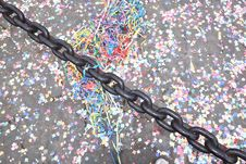 Free Confetti - Carneval Royalty Free Stock Images - 18659909
