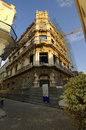 Free Old Havana Edifice Being Restored Stock Image - 18660961