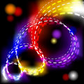 Free Abstract Vector Shiny Spiral Explosion Background Royalty Free Stock Images - 18662149