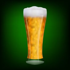 Free Transparent Glass Beer Stock Image - 18660861