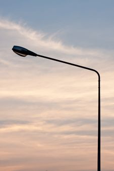 Free Public Lighting. Stock Image - 18661521