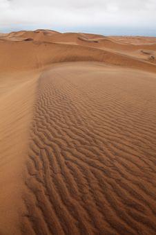 Free Magnetite Edged Dunes Namibia Stock Photos - 18662743