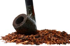 Free Tobacco And Pipe Close-up Stock Photography - 18662872
