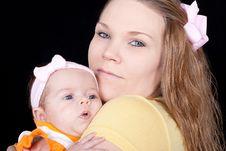 Free Happy Mom Royalty Free Stock Photography - 18663827