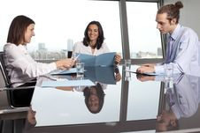Free Meeting In Conference Room Royalty Free Stock Images - 18663839