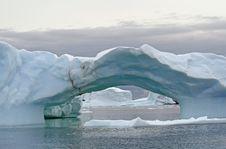 Free Arch Iceberg 2 Stock Image - 18664701
