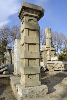 Free China Beijing Yuanmingyuan Ruins-Old Summer Palace Royalty Free Stock Photography - 18664987