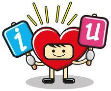 Free Funny Heart Royalty Free Stock Image - 18666266