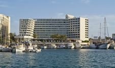 Free View On Resort Hotels, Eilat, Eilat Royalty Free Stock Photography - 18666487