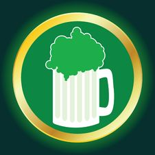 Green Beer Stock Photos