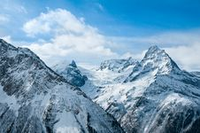 Winter In Mountains. Royalty Free Stock Photography
