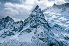 Winter In Mountains. Royalty Free Stock Photo
