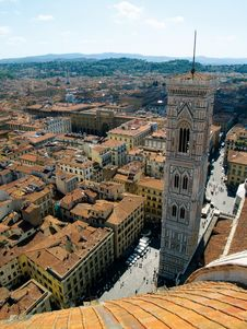 Free Looking Over Florence, Italy Royalty Free Stock Photos - 18667558