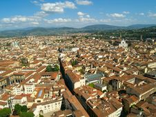 Free Looking Over Florence, Italy Royalty Free Stock Photos - 18667568