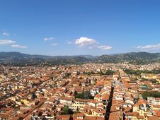 Free Looking Over Florence, Italy Royalty Free Stock Photo - 18667595