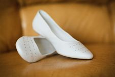 Free Shoes For The Bride Stock Images - 18668204