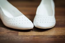 Free Wedding Shoes Stock Photography - 18668232